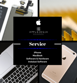 Service iPhone dan MacBook Jogja
