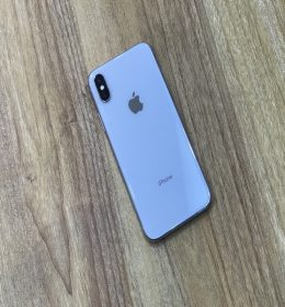 iPhone x Silver Second