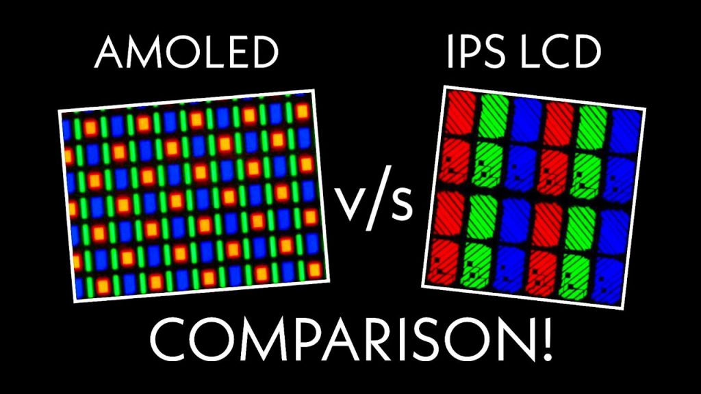 Amoled vs IPS LCD